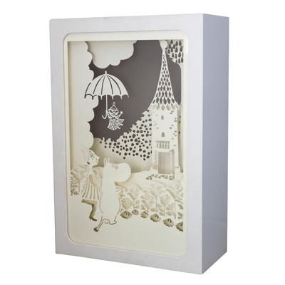 House of Disaster Moomin Shadow Light Box, small, Umbrella