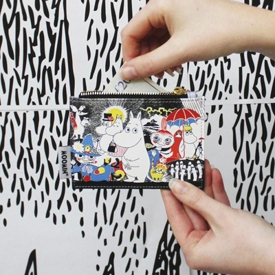 House of Disaster Moomin coin purse, Comic 1