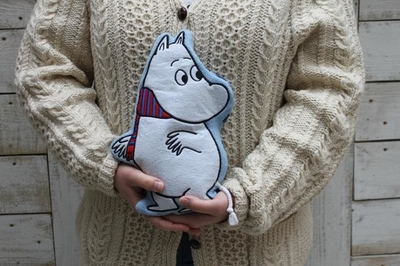 House of Disaster Moomin microwavable heating bag, Winter