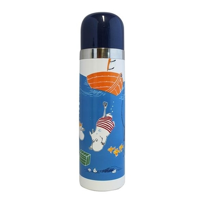 "House of Disaster Moomin thermos flask ""Ocean"""