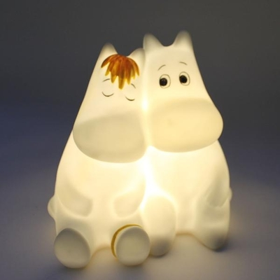 House of Disaster Moomintroll&Snorkmaiden Love small led lamp