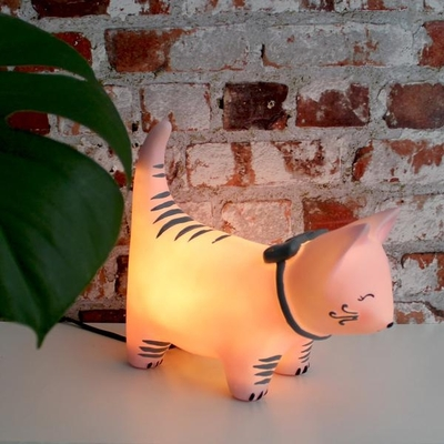 House of Disaster Over The Moon LED big lamp, cat