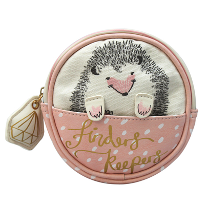 House of Disaster Over the Moon Hedgehog makeup bag