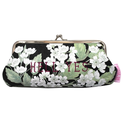 House of Disaster Petal 'Hell Yes' clip purse