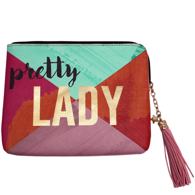 "House of Disaster Ta-daa ""Pretty Lady"" pouch in a gift box"