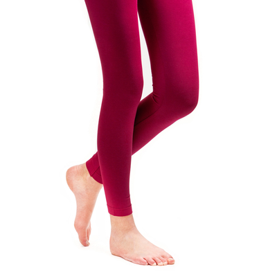 HuiGee Basic Leggings, fuksia
