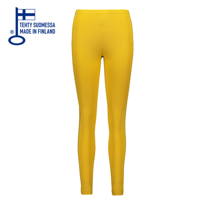 HuiGee Basic Leggings, yellow