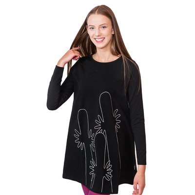 HuiGee Moomin Hattifatteners women's tunic-dress