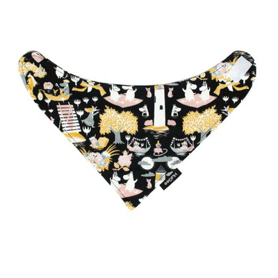 HuiGee Moomin baby's teething bib/ scarf Lighthouse