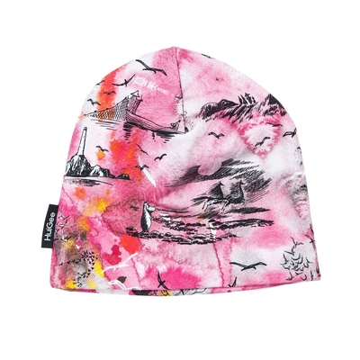 HuiGee Moomin beanie for entire family Sea Adventure, pink