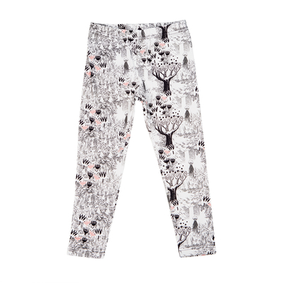 HuiGee Moomin children's leggings,Whomper