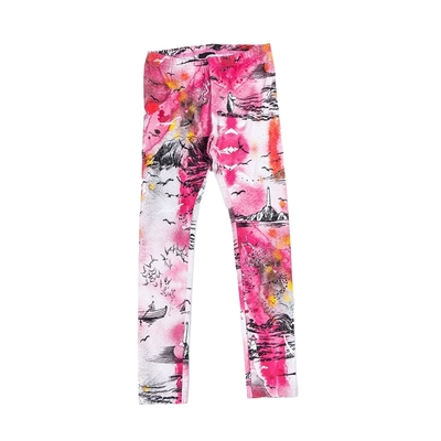"HuiGee Moomin children's leggings ""Sea Adventure"", pink 92-134cm"