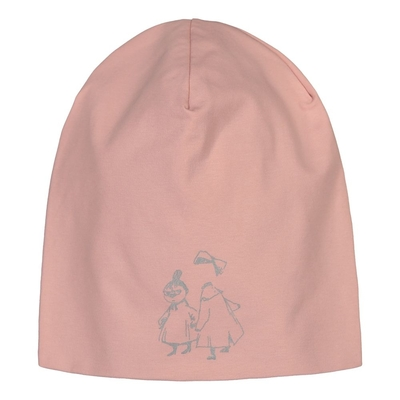 HuiGee Moomin reflective beanie, Little My and Ninny, rose, 2 sizes