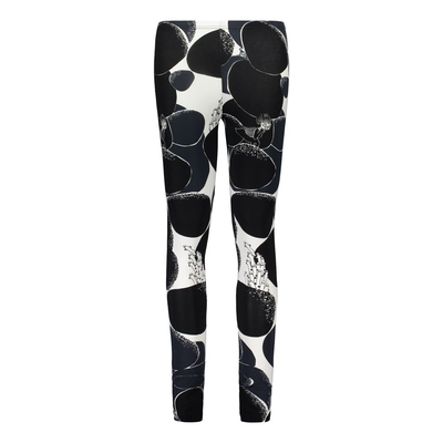 HuiGee Moomin women's leggings Rock, black/white