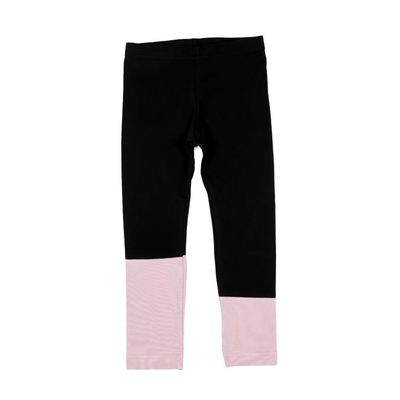 HuiGee children's leggings Sand, black/rose 92-134cm