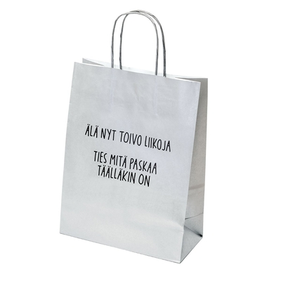 Hunch, Silver paper gift bag