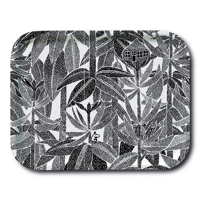 "Ivana Helsinki ""Black and White"" Moomin Tray"