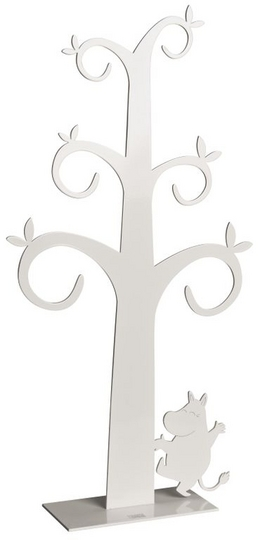 Jewellery tree, Moomintroll, white