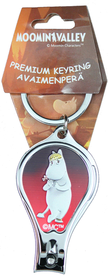 Keyring / nail clippers Moominvalley, Snorkmaiden