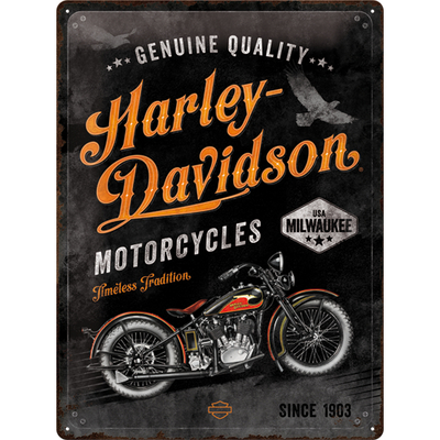 Kilpi 30x40 Harley-Davidson - Timeless Tradition