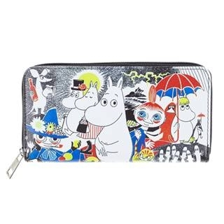 Lasessor Moomin Comic wallet, colorful