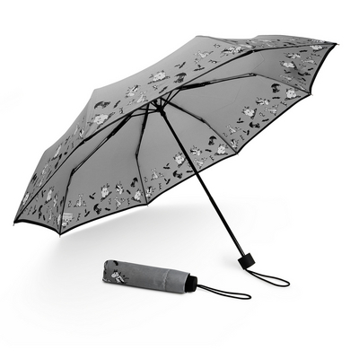 Lasessor Moomin Figuria umbrella, grey