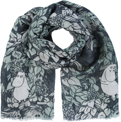 Lasessor Moomin The Hobgoblin's Hat scarf, light green