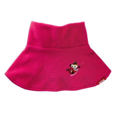 Lasessor Moomin fleece neck warmer Little My, pink