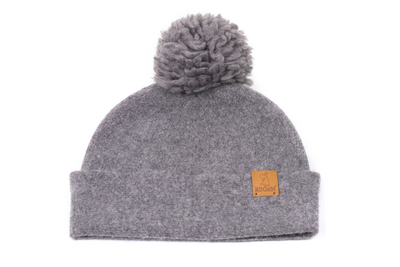 Lasessor Moomin wool hat beanie Bobble, grey