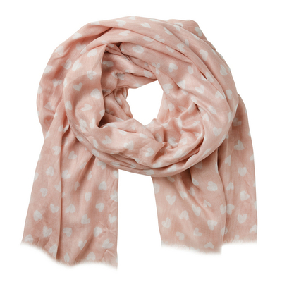 Lasessor Sally scarf, rose-color