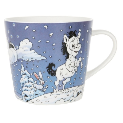 Lena Furberg Bandit the Pony -mug Owl, blue