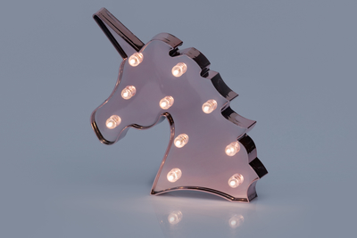 Light board unicorn