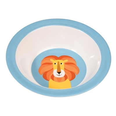 Lion children's deep plate