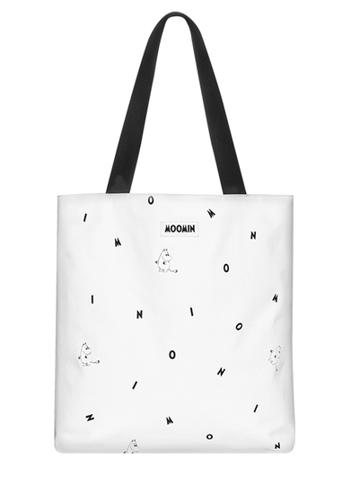 MOZO Moomin little shopper bag, Icon, white