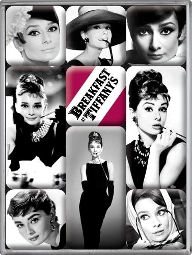 Magnet set Breakfast at Tiffany's