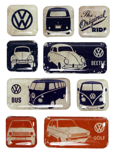 Magnet set The Original Ride, 9pcs
