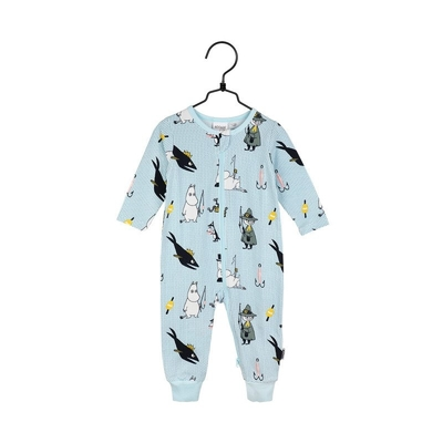 Martinex Moomin baby's pajamas Pals, light blue