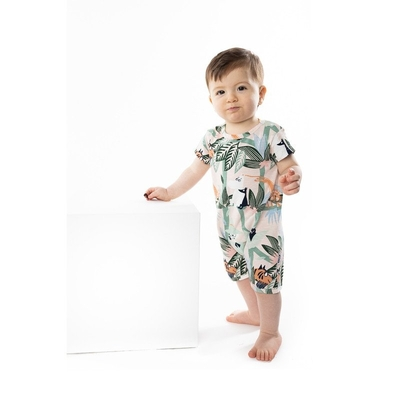 Martinex Moomin baby's playsuit Latvus, green