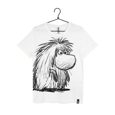 Martinex Moomin women's Sketch t-shirt Ancestor, white
