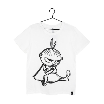 Martinex Moomin women's Sketch t-shirt Little My, white