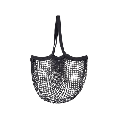 Mesh shopping bag, black