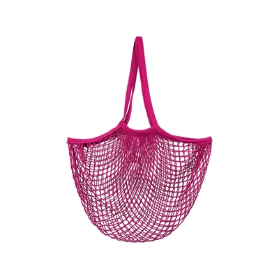 Mesh shopping bag, pink