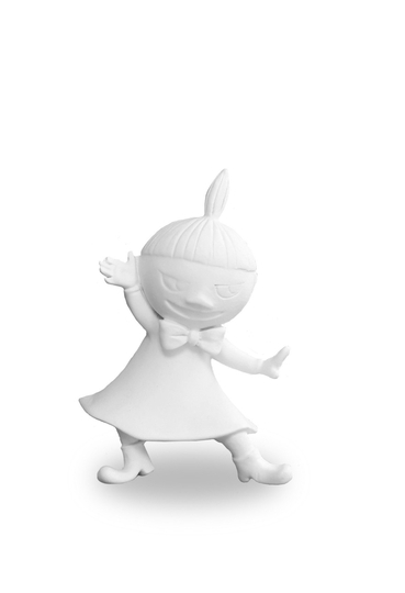 Mitt & Ditt Dancing Little My figure, White
