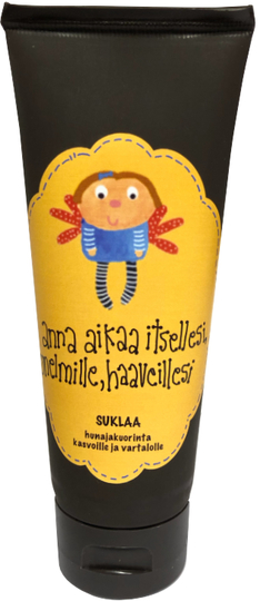 "Mollimaija's honey scrub for the face and body, Chocolate, ""Anna Aikaa itselle.."""