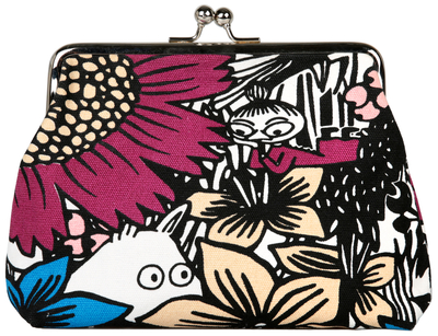 "Moomin ""Emma"" purse/ makeup bag, Little My Daydreaming"