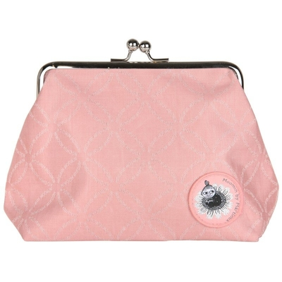 "Moomin ""Emma"" purse/ makeup bag Moomin logo, light pink"