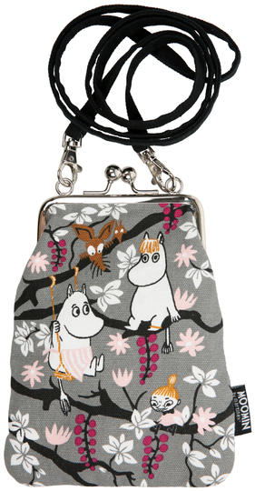 "Moomin ""Vinssi"" purse bag, Climbing tree"