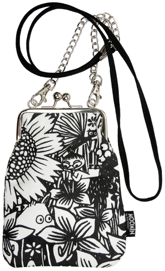 "Moomin ""Vinssi"" purse bag, Moomintroll Daydreaming"