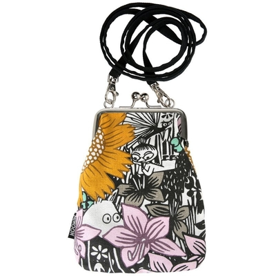 "Moomin ""Vinssi"" purse bag Daydreaming, yellow"