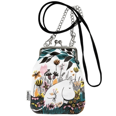 "Moomin ""Vinssi"" purse bag Meadow, colorful"